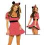 Disfraz Minnie Disfraces Mujer Minnie Vincha Orejitas