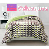 Frazada Doble Flannel Con Corderito Super Soft King Size
