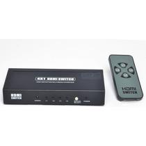 Amplificador Switcher Selector Hdmi V1.4 Fullhd 3d 4entrada
