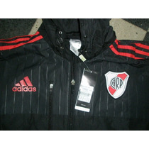 Campera Travel De River Plate 2015 Rompeviento Impermeable