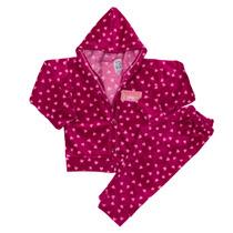 Conjunto De Campera Con Capuchay Pantalon De Plush Bebes