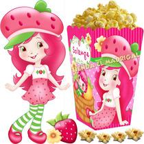 Kit Imprimible Frutillita Golosinas Cotillon Y Candy Bar 2x1