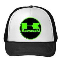Kawasaki, Gorra Combinada Por Re-start!