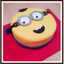 Promo Torta Minions 2kg + 12 Cupcakes -mercadopago