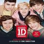 Libro One Direction, La Historia (en Ingles) - Usado