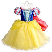 Vestido Disfraz Blancanieves Original Disney Store Eeuu