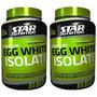 Egg White Isolate 2kg Star Nutrition Proteina Clara De Huevo