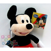 Peluche Mickey Mouse Disney Original Tela Plush Lavable 30cm