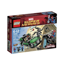 Lego Super Heroes Spider-man Spider-cycle Chase (76004)