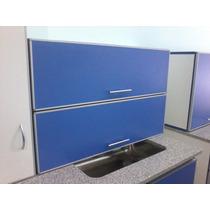 Alacena Con Aluminio, Amoblamiento, Mueble De Cocina,oferta!