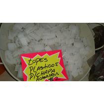 Topes Plasticos Para Chapa Acanalada Trapezoidal X Unuidad