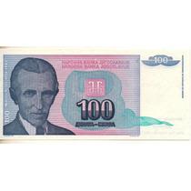 Yugoslavia 100 Dinara 1994 S/c Bm 2030