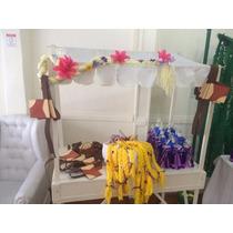 Souvenirs Frozen Rapunzel Trenzas Lana