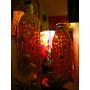 Botellas Decorativasartesanales.vidrio Pintado A Mano.unicas