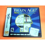 Brain Age 2 More Training In Minutes A Day - Ds --en Español