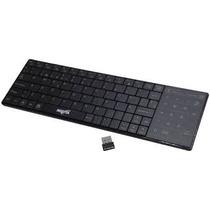Teclado Inalambrico Smart Tv Nisuta Wireless Con Touch Pad