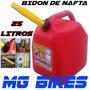 Bidon De Nafta Combustible 25 Litros Lancha Jet Ski Mg Bikes