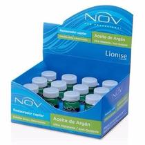 12 Ampollas Nov Aceite De Argan 15ml Ultra Hidratante