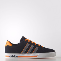 Zapatillas Adidas Neo Daily Team Hombre Azul/naranja