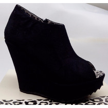 Zapato Botineta Plataforma