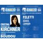 Boleta Electoral - Presidente 2011 Cristina - Boudou 2011