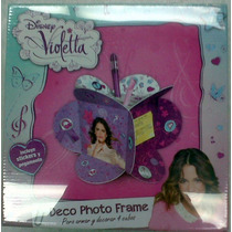 Disney Violetta Deco Photo Frame Cubos Para Armar Y Decorar