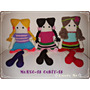 Amigurumi Muñeca Crochet Lana