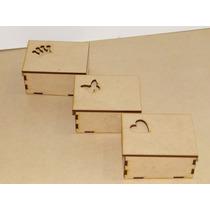 Cajita Fibrofacil (mdf) Souvenirs Calado Laser 9x7x5
