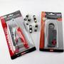 Kit Coaxil X 3 Pinza + Pela Cable + 5 Fichas Rg6 Oferta Htec