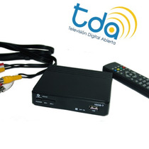 Conversor Decodificador Sintonizador Tda-tdt-hd-hdmi-usb-tv
