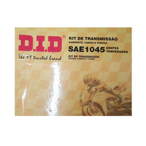 Kit Transmision Did Yamaha Ybr 125 14-45 Reforzado