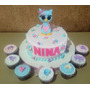 Tortas Decoradas Baby Shower Nacimiento Bautismo Infantiles