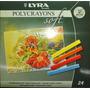 Dia Del Niño! Pastel A La Tiza Lyra Polycrayons 24 Colores