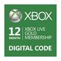 Xbox Live Gold 12 Meses Membresia Licencia P/ One 360