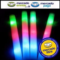 40 Varas Barras Goma Espuma Rompecoco Luminoso Led 3 Colores