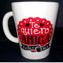 Taza Conica Dia Del Amigo Ceramica Mediano 9.50cm C.6304