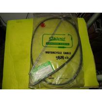 Cable De Freno Trasero De Daelim 50 Con Varilla Motor1