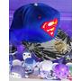 Gorra Superman Logo Clasico Tipo New Era Plana