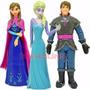 Frozen Elsa Y Anna Plástico Blister Torta O Jugar - Local