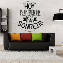 Vinilos Decorativo Frases. Heladera/pared/auto