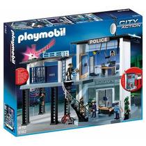 Playmobil 5182 Comisaría De Policía Con Alarma Todoxmia