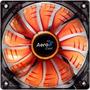 Cooler Fan Pc Air Force 120mm Led Orange Antivibración