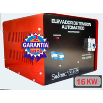 Elevador Automatico De Tension 16 Kw Industria Argentina
