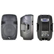Bafle Potenciado Control Remoto Bluetooth Usb Mp3 Sd Bam12a