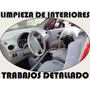 Limpieza,lavado,tapizados ,autos,vehículos,interiores