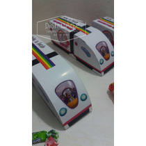 Cajitas Golosineras Monorriel Topa Junior Expres X 10 Uds