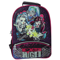 Mochila Grande Monster High Ó Violetta Original
