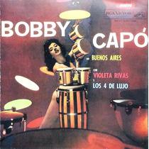 Bobby Capo Con Violeta Rivas Y Los Cuatro De Lujo Cd 30 Tema