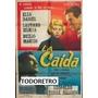 Afiche De Cine La Caida Con Elsa Daniel, Duilio Marzio 1959