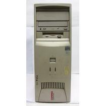 Pc Compaq Pentium 3 500 128 Mb Cd 4 Gb Placa Video Red